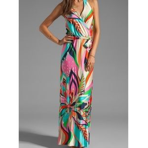 Trina Turk Surfside swirl dress